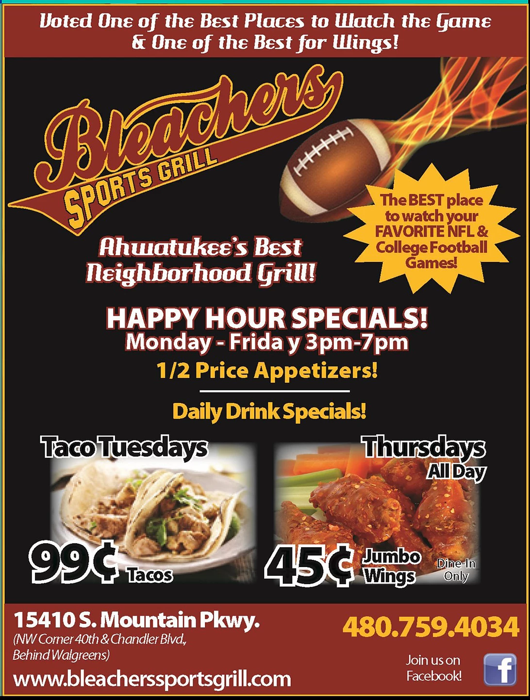Bleachers Sports Grill