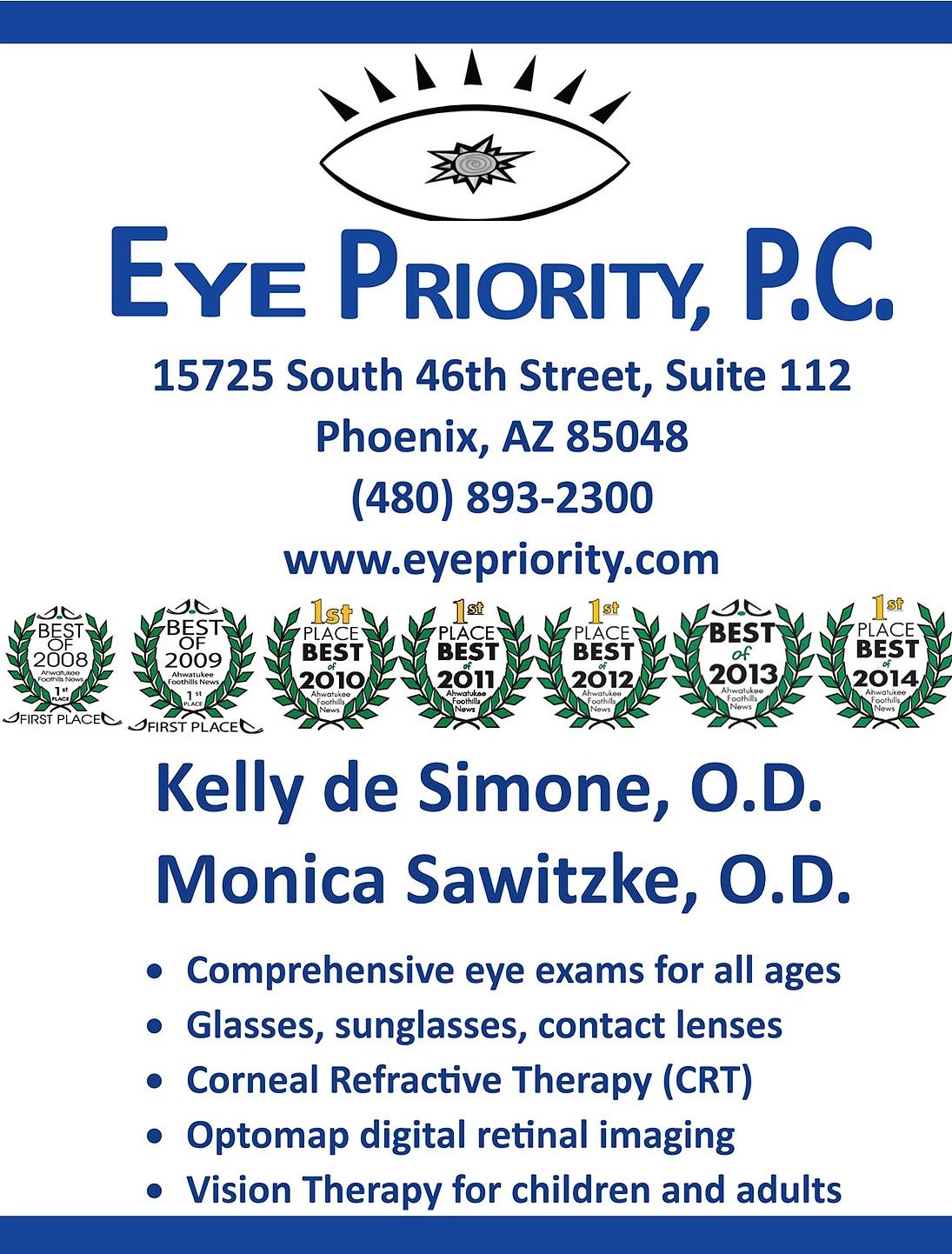 Eye Priority