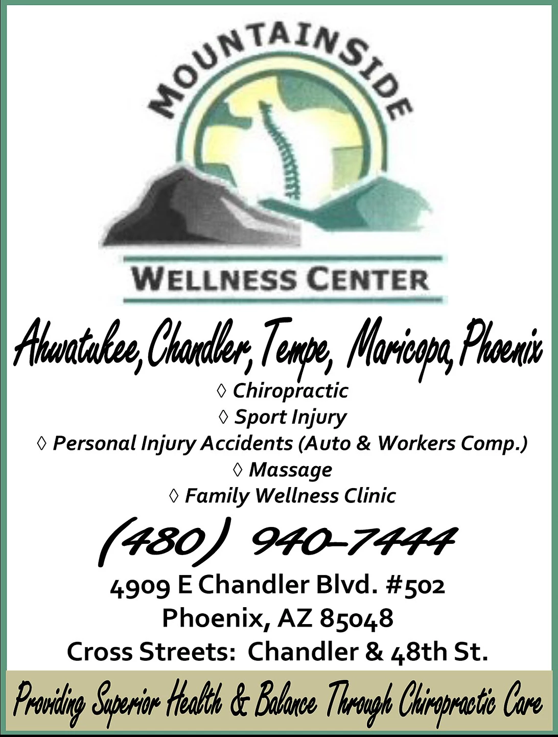 Mountainside Wellness Center